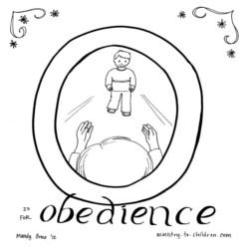 Coloring Page-O-Obedience-boy