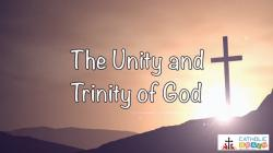 Lesson 03 - The Unity and Trinity of God Grade 3-5
