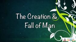 Lesson 05 - The Creation and the Fall of Man Grade 3-5
