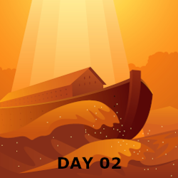 Day 02: Flood & People Scatter at Babel