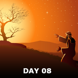 Day 08- Israel Enslaved & The Burning bush