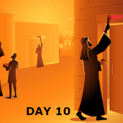 Day 10- The Passover& Red Sea