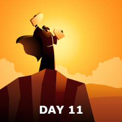 Day 11- Manna & Covenant made with Moses