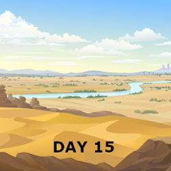 Day 15- Israel crosses Jordan